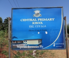 VISIT TO CENTRAL PRIMARY SCHOOL EKE