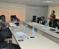 INAUGURAL BOARD MEETING @ LIFT SAXUM OFFICE, ENUGU.