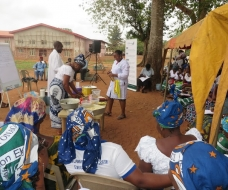 Skills acquisition Rural Outreach - confectionery production