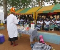 Skills acquisition Rural Outreach - soap production